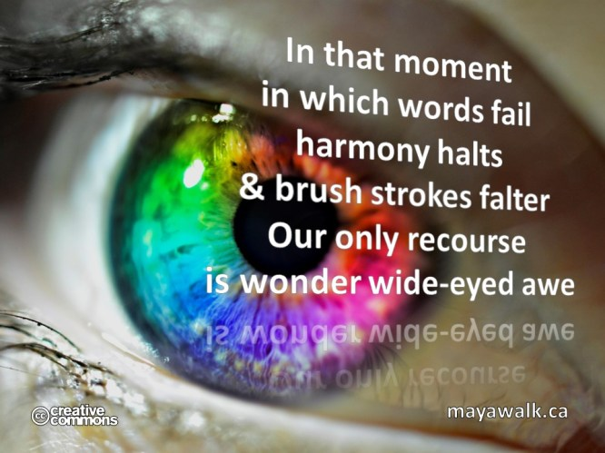 Wide-Eye Awe