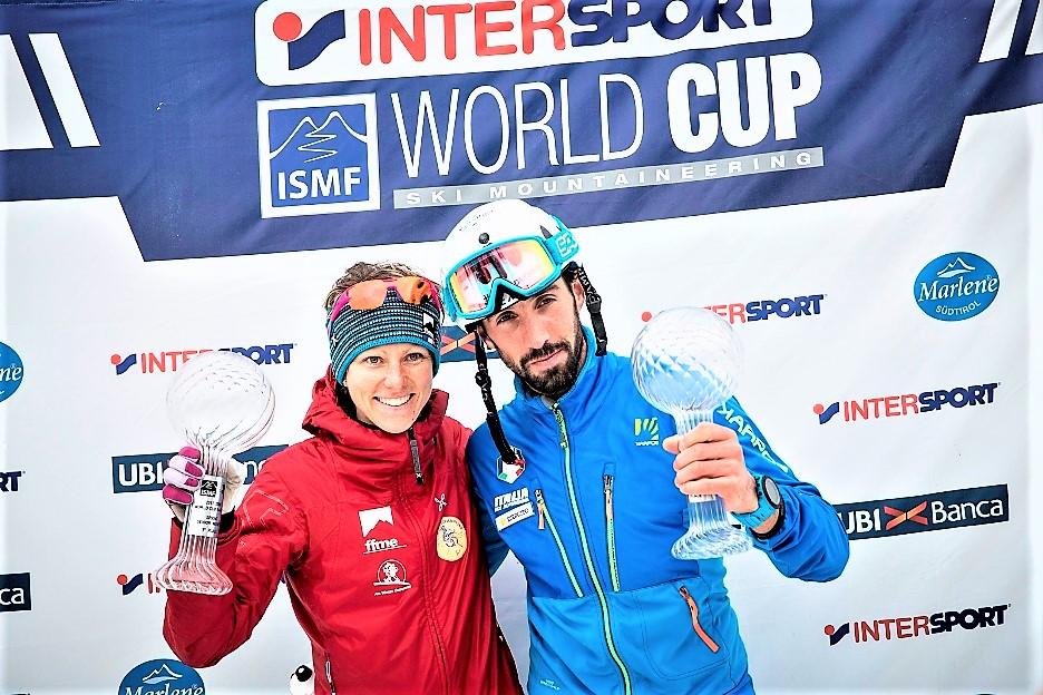 Esquí de Montaña: Laetitia Roux y Robert Antonioli ganan Copa Mundo Skimo Sprint 2017.  Claudia Galicia plata y Marta García Farrés bronce.