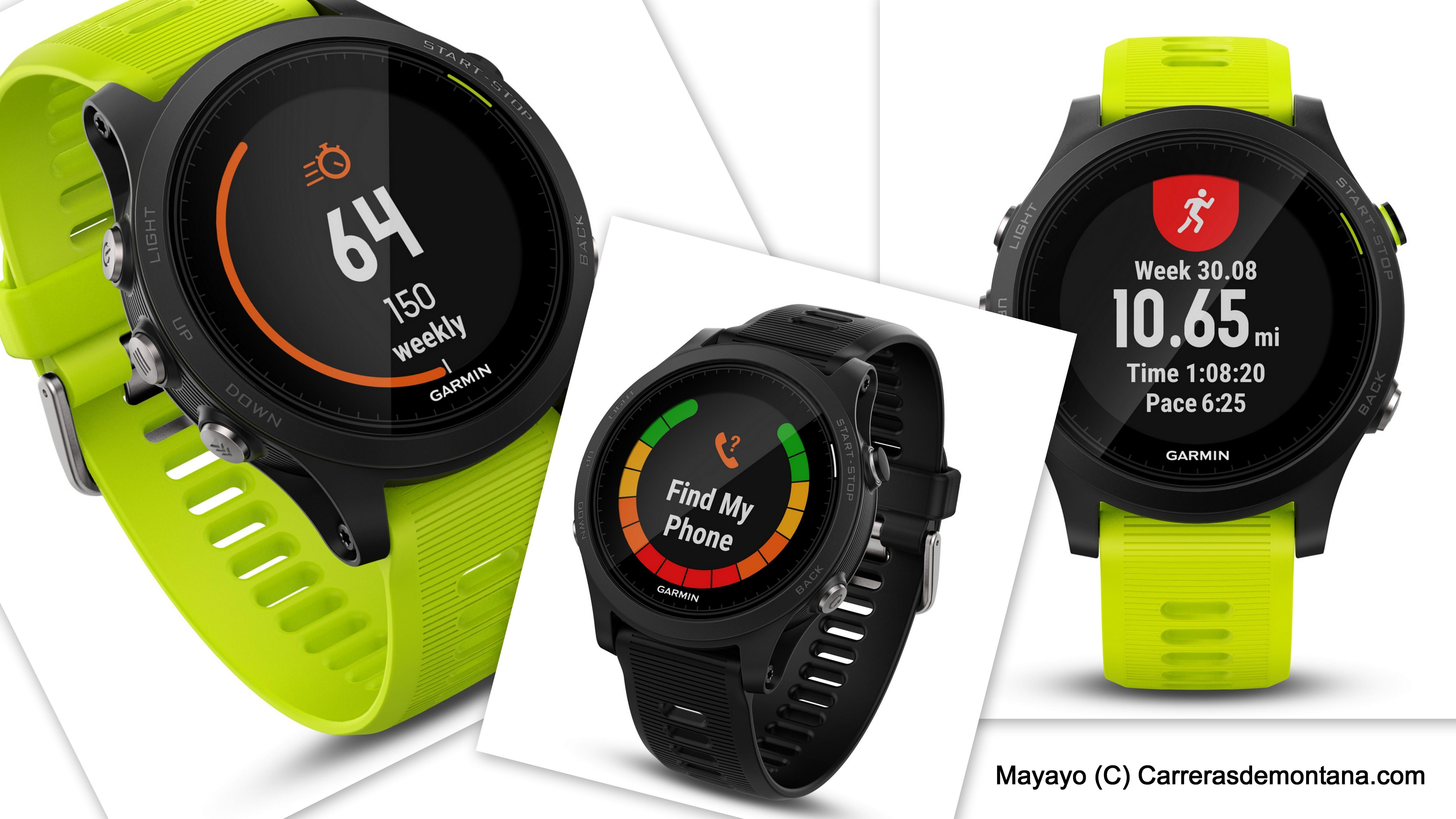 Garmin Forerunner 935 (549€/49g) Reloj gps para running, ciclismo, natación, triatlón y más. Análisis técnico por Mayayo