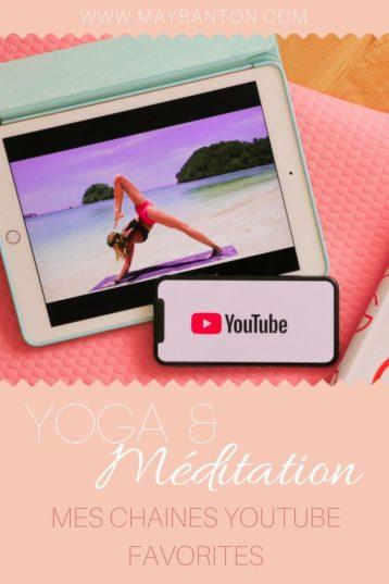 Tu cherches des chaînes youtube pour apprendre, découvrir ou t'améliorer en Yoga. Voici mes profs préférées