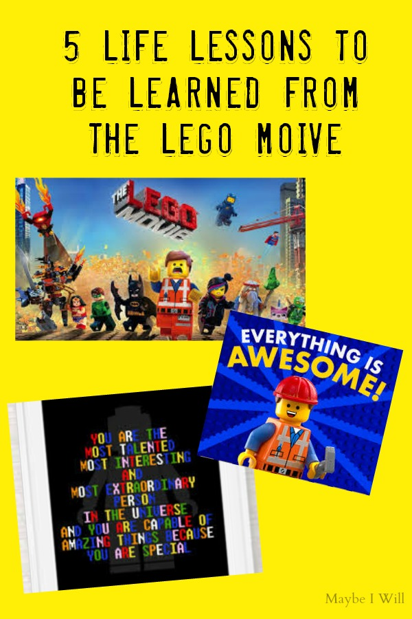 5 Life Lessons To Be Learned From The Lego Movie