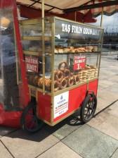 Hot bread vendor