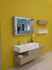 ottima soluzione per chi vuole due lavabi ma ha poco spazio by Lasaidea