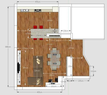 Come arredare un soggiorno rettangolare in 5 mosse from www.gaiamiacola.it tr published ekonomik ve güzel bir. Living Cucina Ingresso E Studio In 50 Mq Mayday Casa Blog E Progetti
