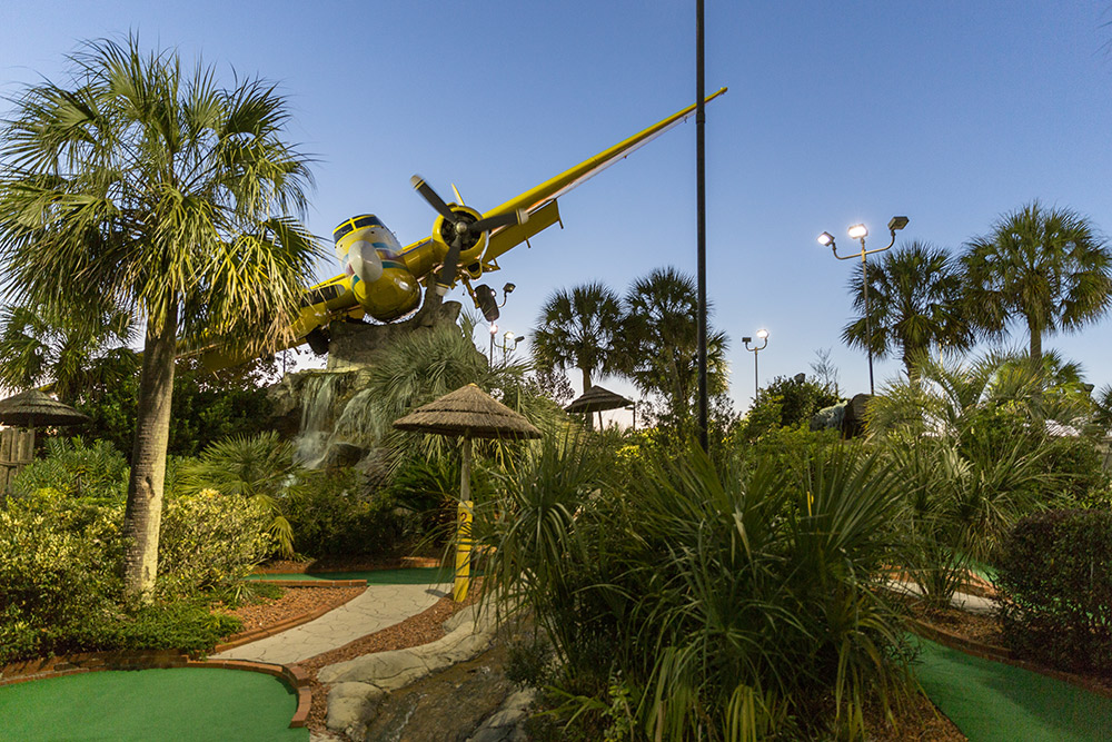 mini golf course in north myrtle beach