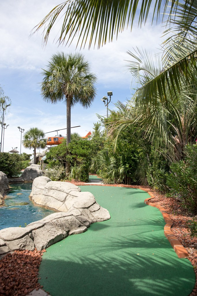 miniature golf course in myrtle beach
