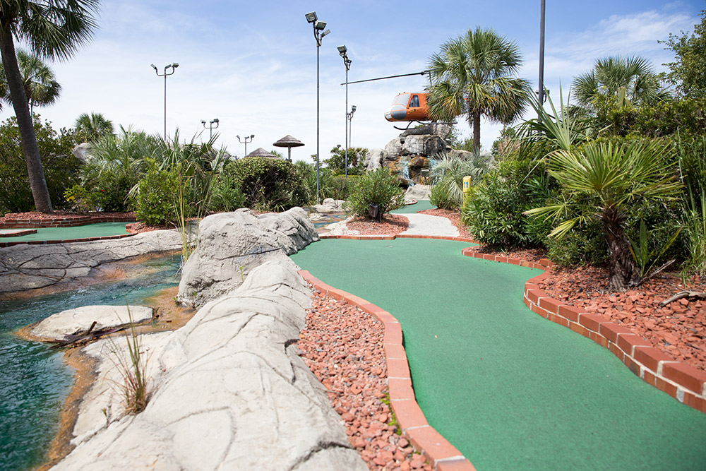 mini golf course in myrtle beach south carolina