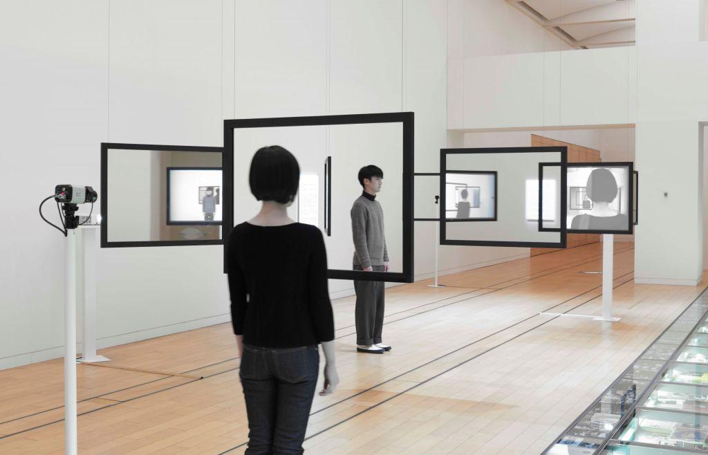 "Photo- Yamamoto Tadasu. ""Installation view at Open Space 2016- Media Conscious, NTT InterCommunication Center [ICC], Tokyo, 2016"""