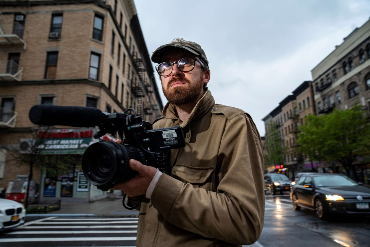 John Wilson and Camera