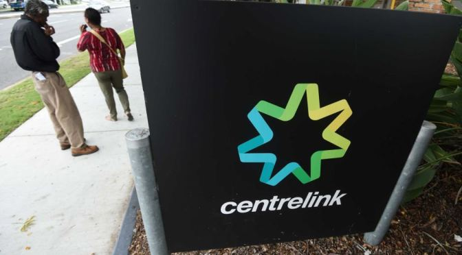 Centrelink uses intimidation to impose the government's will
