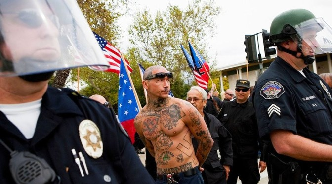 Documents reveal California police worked with Neo-Nazis to pursue 'anti-racist' activists