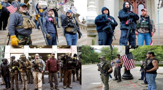 March on Rome in 1922 and its imitators in the United States today