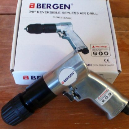 Bergen 3/8 Reversible Keyless Air Drill