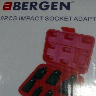 Bergen 8pc impact socket adapters