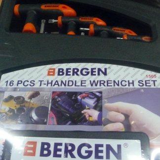 16pc T-handle Wrench Set Bergen
