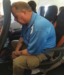 Stocker on plane