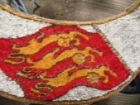 Detail on the banner