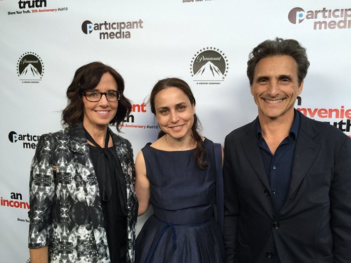 10th Anniversary of An Inconvenient Truth at Participant Productions, With Laurence Bender and Lesley Chilcott