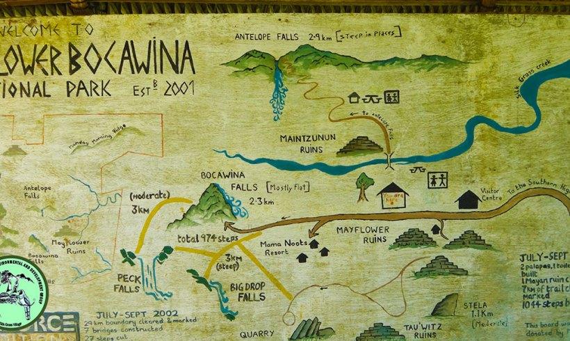 Mayflower Bocawina National Park