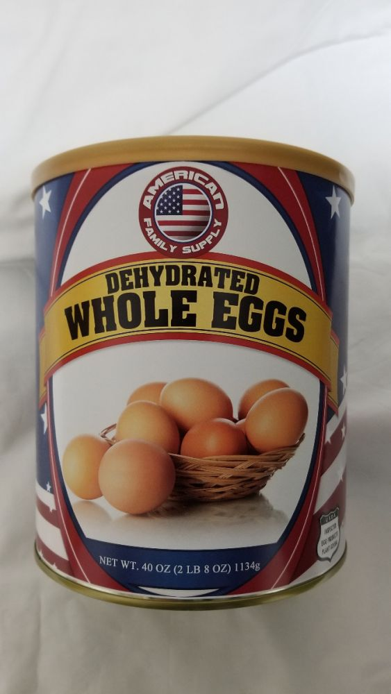 Dehydrated Whole Eggs