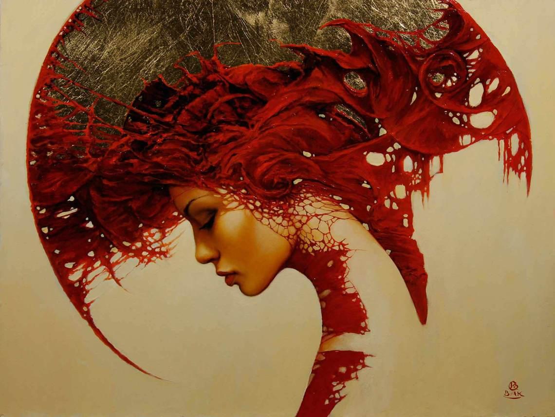 African Headdress Wall