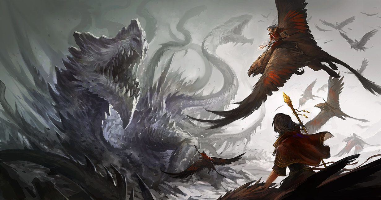 Image result for red dragon vs the eagle