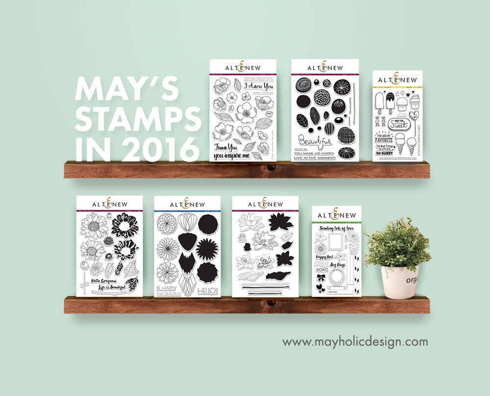 May Stamp Sets