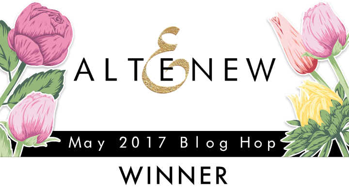 _May Blog Hop 2017 Winner