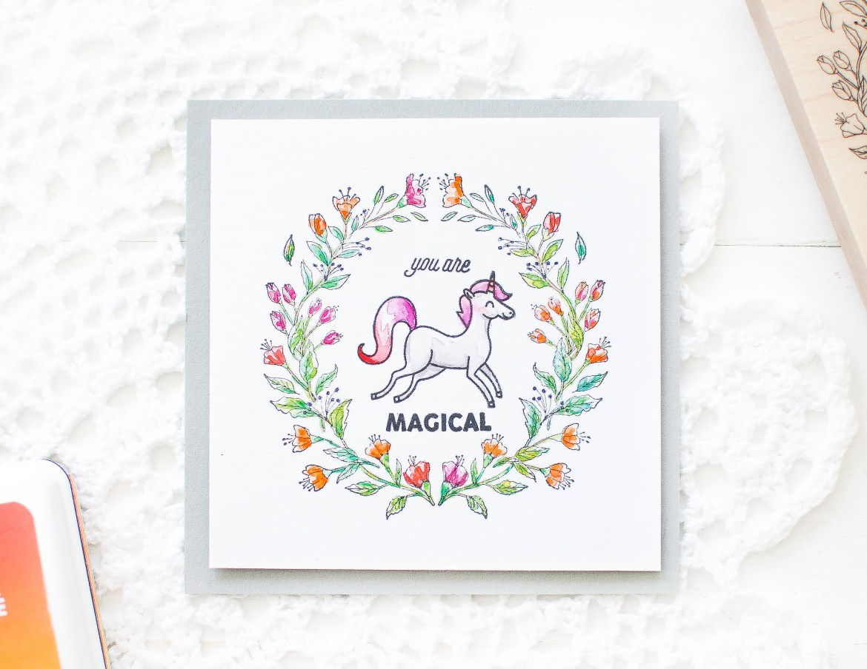 Hero Arts_Unicorn Watercolor Card_May Park_6
