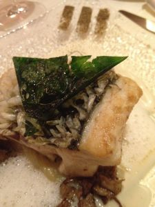 sea bass with Asian spices