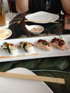 Duo of Contemporary Sushi