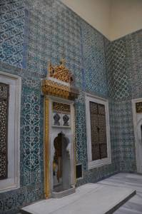room in Topkapi Palace