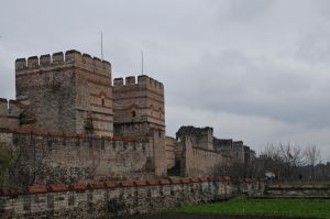 old city wall (time of Theodosius II)