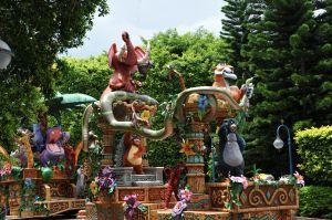 Hong Kong Disney parade