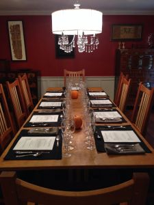 new dining room table & chairs