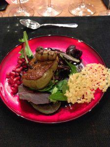 foie gras with parmesan tulles