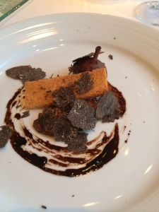 foie gras (with truffles)
