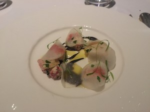 lobster with truffles