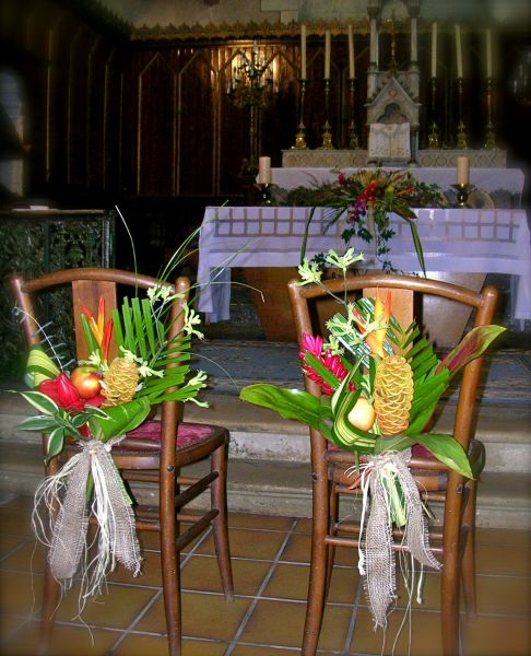 Maylis Boniface Dcoration Florale Mariage Exotique