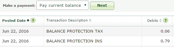 TD Balance Protection Insurance