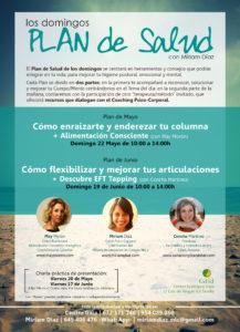 Domingo 22 de mayo, Plan de Salud en Sevilla