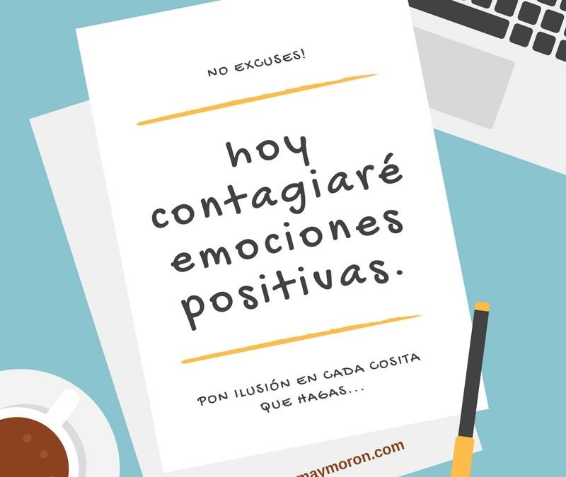 Contagia emociones positivas
