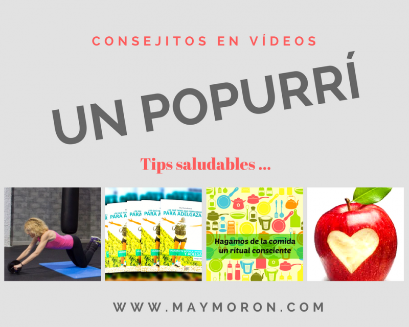 Popurrí de tips saludables en vídeos