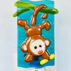 Fused Glass Monkey