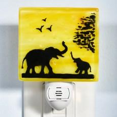 Elephants Night Light