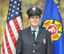Firefighter EMT Angela Lawless