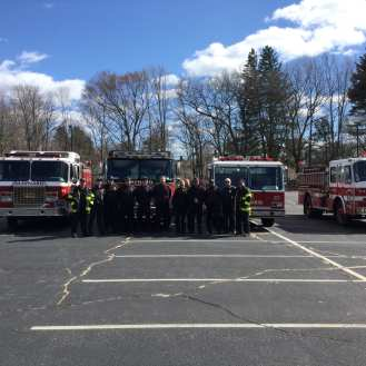 March 2016 Maynard Fire Department training.