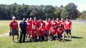 Maynard Fire Department Softball Team after a charity event in 2015.