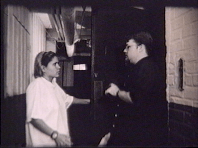 1997 silent student film, 'Garbage Night'