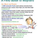 Maynard Cultural Council Develops Field Guide to Maynard